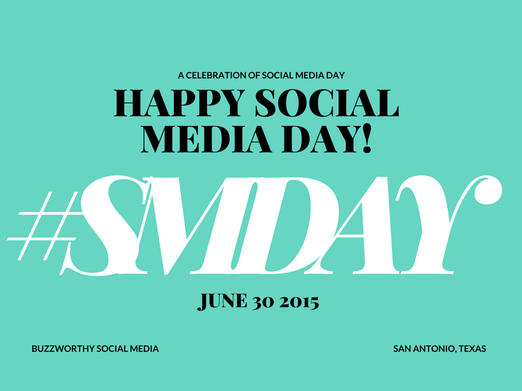 A CELEBRATION OF SOCIAL MEDIA DAY